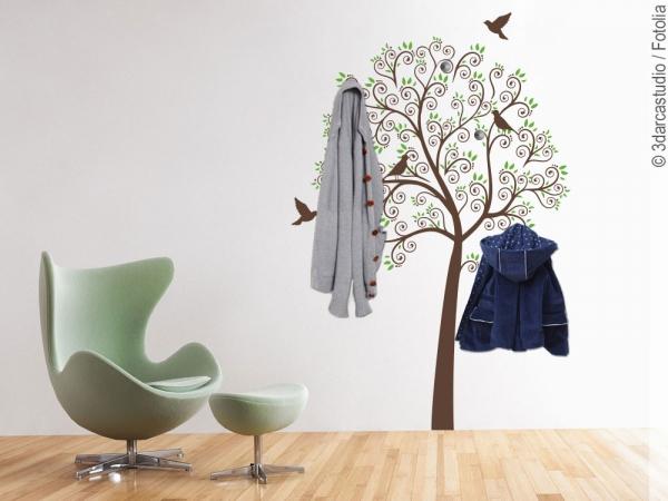 schicke wandtattoos und wandaufkleber. Black Bedroom Furniture Sets. Home Design Ideas
