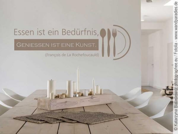 Wandtattoos für die Küche: Schöne Motive und Sprüche