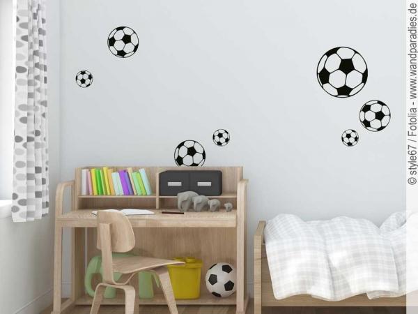 Wandtattoo Fussball Tor Deko Furs Kinderzimmer