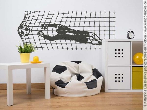 Schicke wandtattoos und wandaufkleber - Fussball kinderzimmer ideen ...