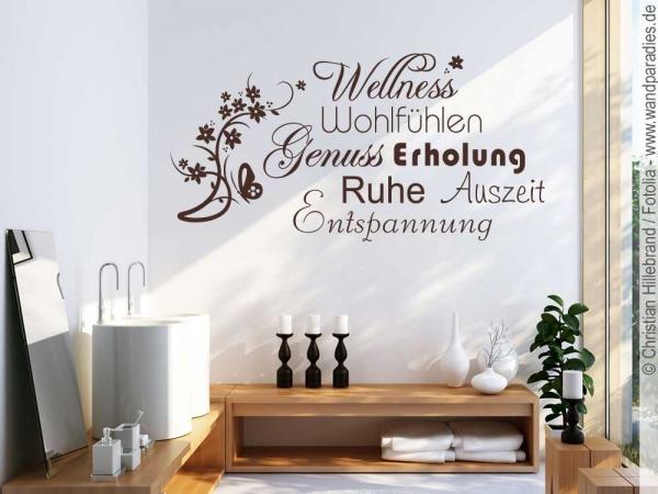 Dekoration Wandtattoo Sprüche Wohlfühloase Nr 2 Wand Tattoos ...