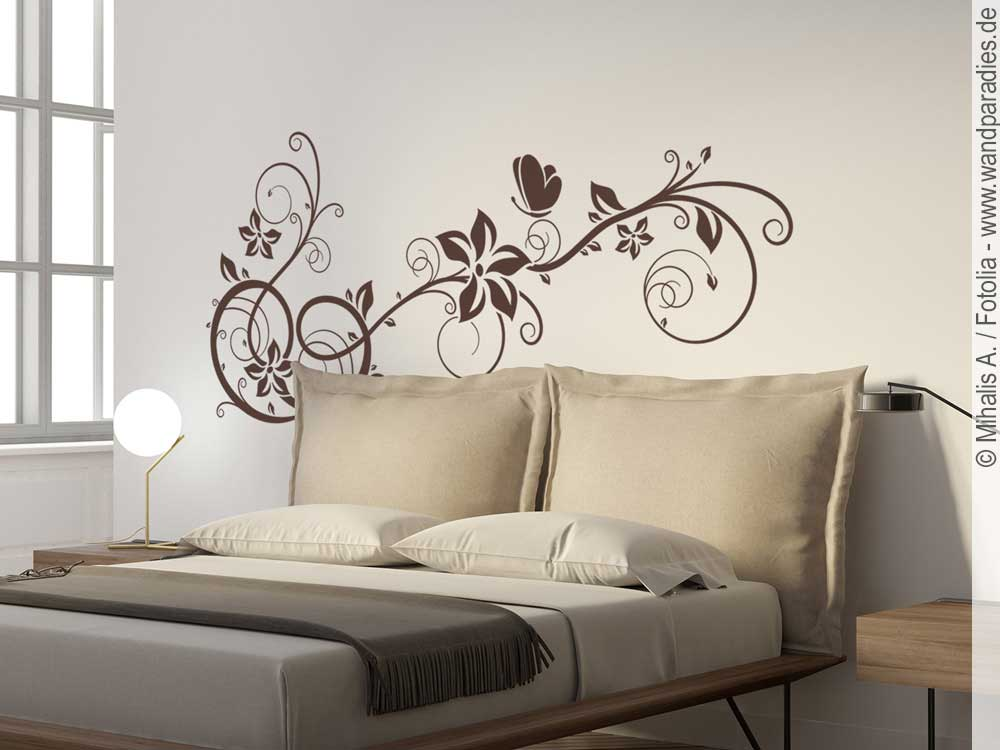 wandtattoo rankenornament verschn rkelter wandaufkleber. Black Bedroom Furniture Sets. Home Design Ideas